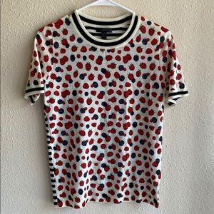 J.Crew berry T-shirt